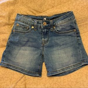 •7 For All Mankind• Denim Shorts | Girls Size 8